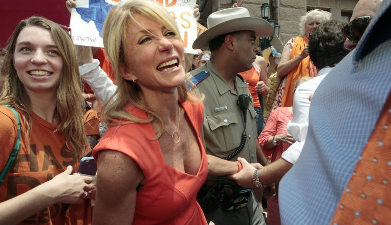 Illustration for article titled Wendy Davis Has A Republican BFF Defending Her From Right Wing Attacks