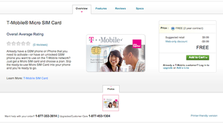 Illustration for article titled T-Mobile Is Offering Micro SIM Cards So Their Customers Can Use the iPhone 4