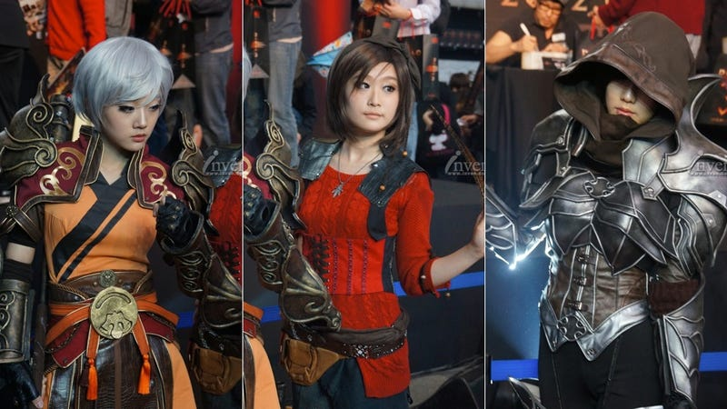 Illustration for article titled South Korea Set Ablaze with Fancy Diablo III Outfits