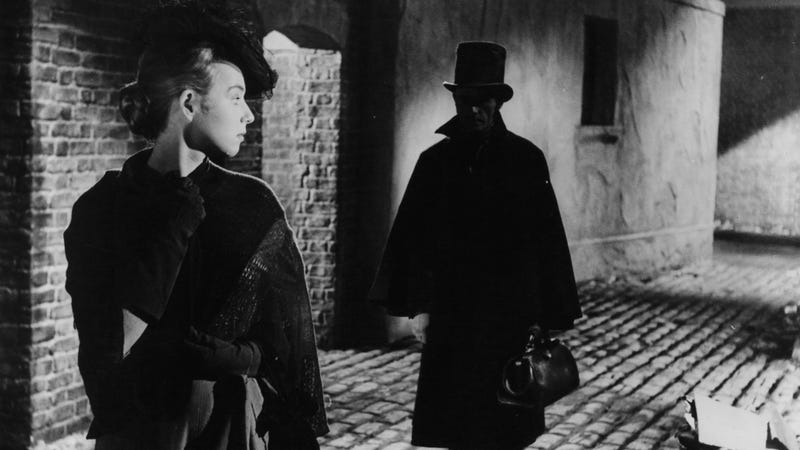 A still from the 1959 film Jack The Ripper