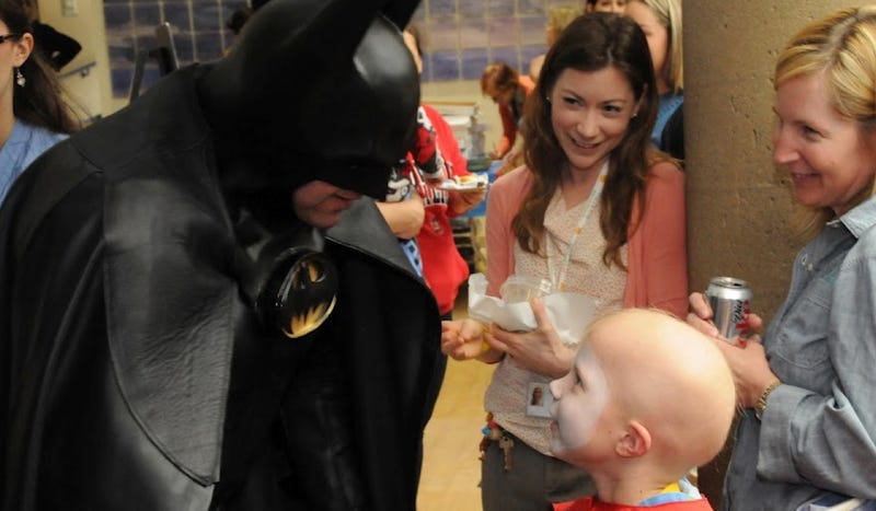 Illustration for article titled Children's Hospital Cancels Lamborghini Batman's Visit Because Of Aurora Shooting