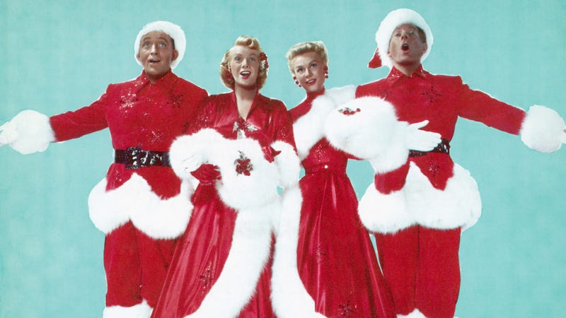 The cast of the 1954 film White Christmas.