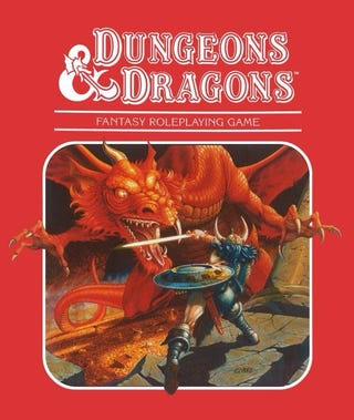 Illustration for article titled Today's the 40th anniversary of Dungeons & Dragons!