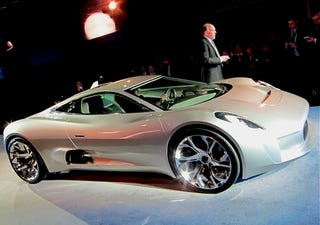 Illustration for article titled Should Jaguar Build The C-X75 Concept?