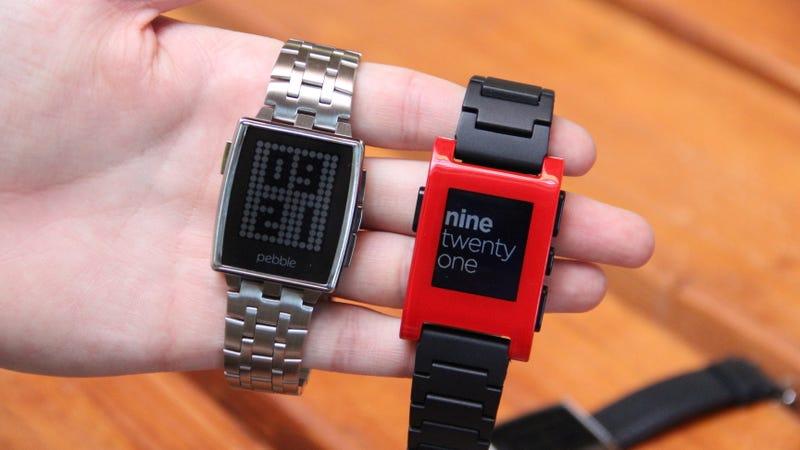 Illustration for article titled Este es el nuevo reloj Pebble: de acero y por 249 dólares