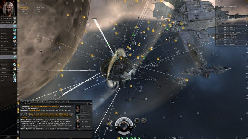 Illustration for article titled Furious Over Microtransactions, EVE Online Community Explodes with Rioting