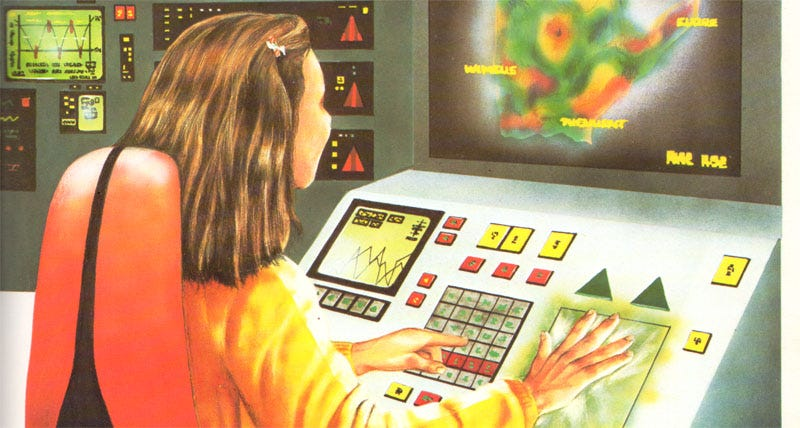 Illustration for article titled This future was made in a facility that also processes peanuts (1982)