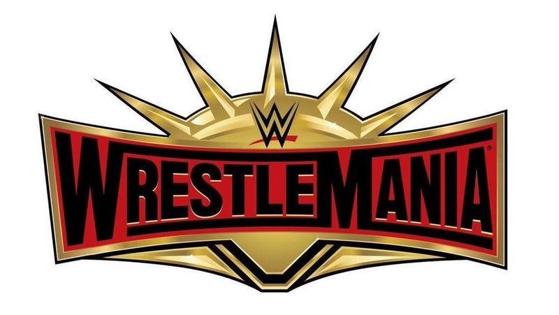 WrestleMania 35 logo.