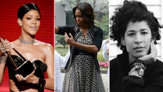 Rihanna; Michelle Obama; Rebecca WalkerKevin Winter; Peter Parks; Saul Loeb (Getty Images)