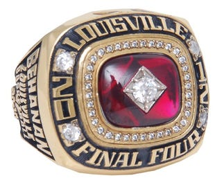 Illustration for article titled Chane Behanan's 2012 Final Four Ring Is Up For Auction [Update]
