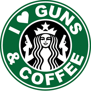 Illustration for article titled Newtown Group Objects to Gun Rights Rally at Starbucks