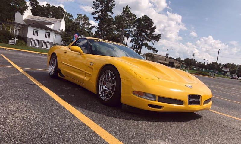 Illustration for article titled At $25,000, Might This Lingenfelter-Lunged 2003 Chevy Corvette Z06 Make You Go Zowie?