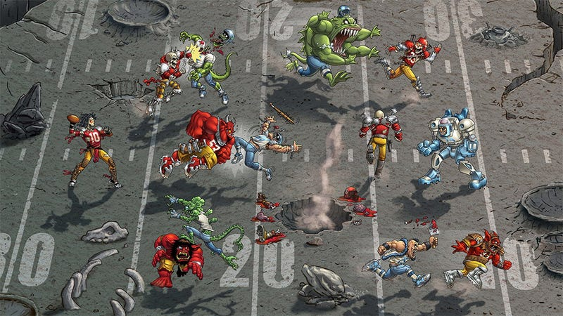 Illustration for article titled If Any Game Needs A Remake, It's Mutant League Football