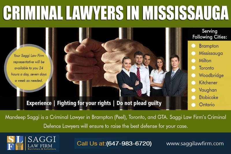 Illustration for article titled Criminal lawyers in Mississauga