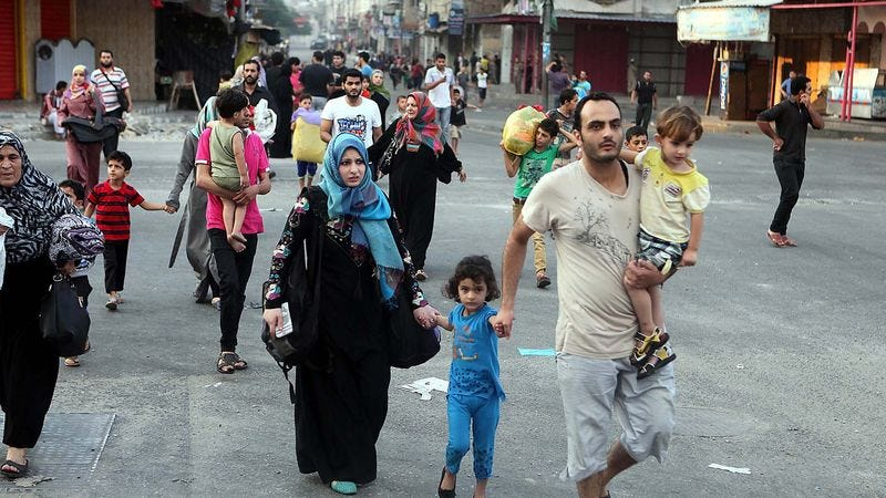 Illustration for article titled Israel: Palestinians Given Ample Time To Evacuate To Nearby Bombing Sites