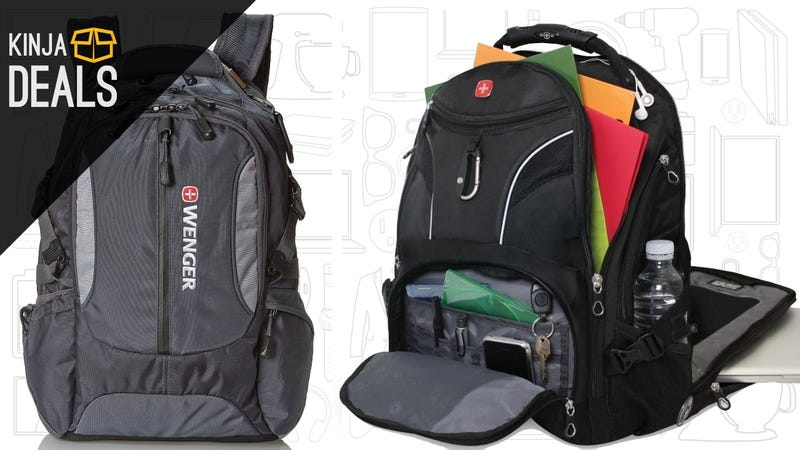 Choose From Six Deeply-Discounted SwissGear Laptop Backpacks ...