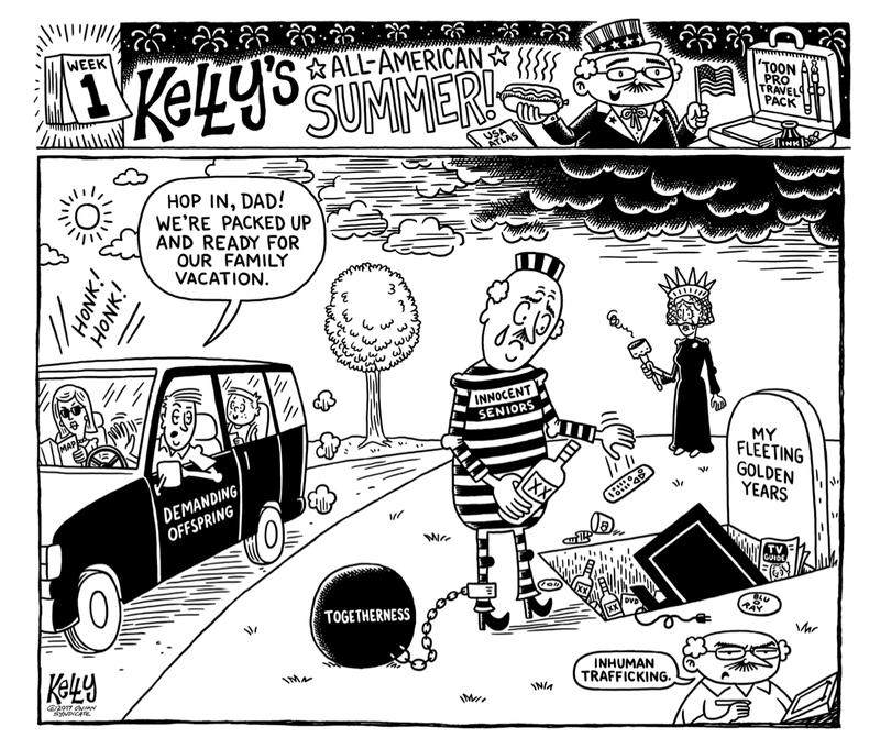 Illustration for article titled Goad Trip