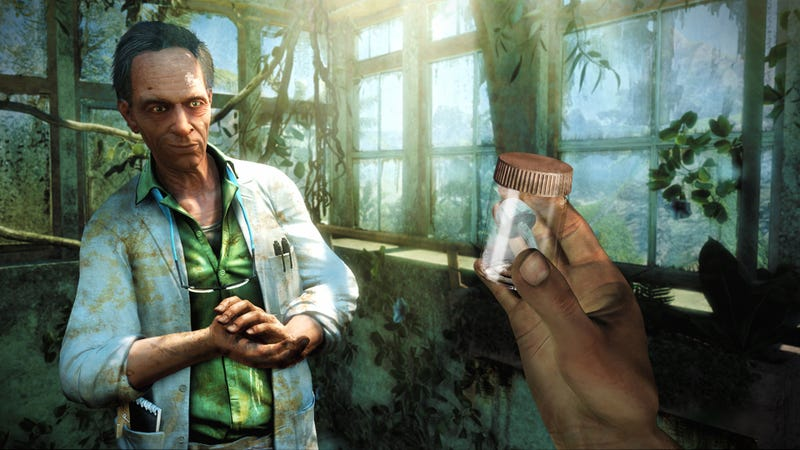 Illustration for article titled Maybe What Far Cry 3's Story Needs Is Something Crazy Like Mass Effect's Indoctrination Theory