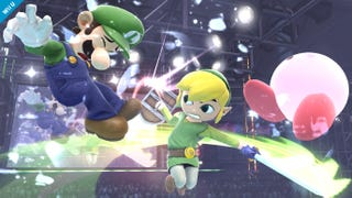 Illustration for article titled Wind Waker's Link Enters The Smash Bros. Fray, Knocks a Few Heads In