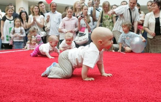 Illustration for article titled New Sport Alert: Lithuanian Baby Racing