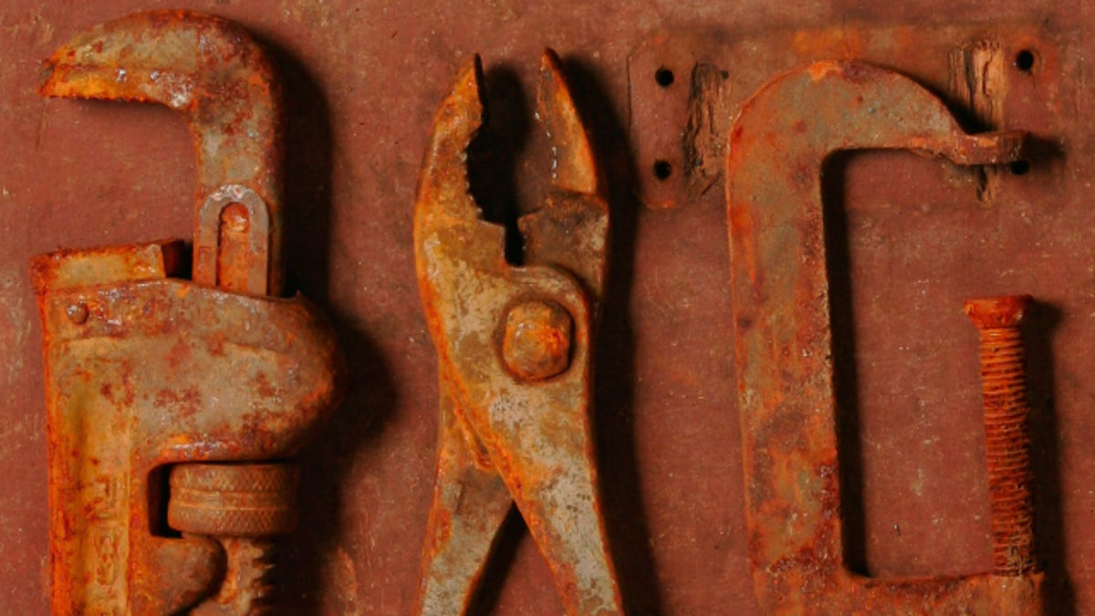How to Remove Rust From Old Tools
