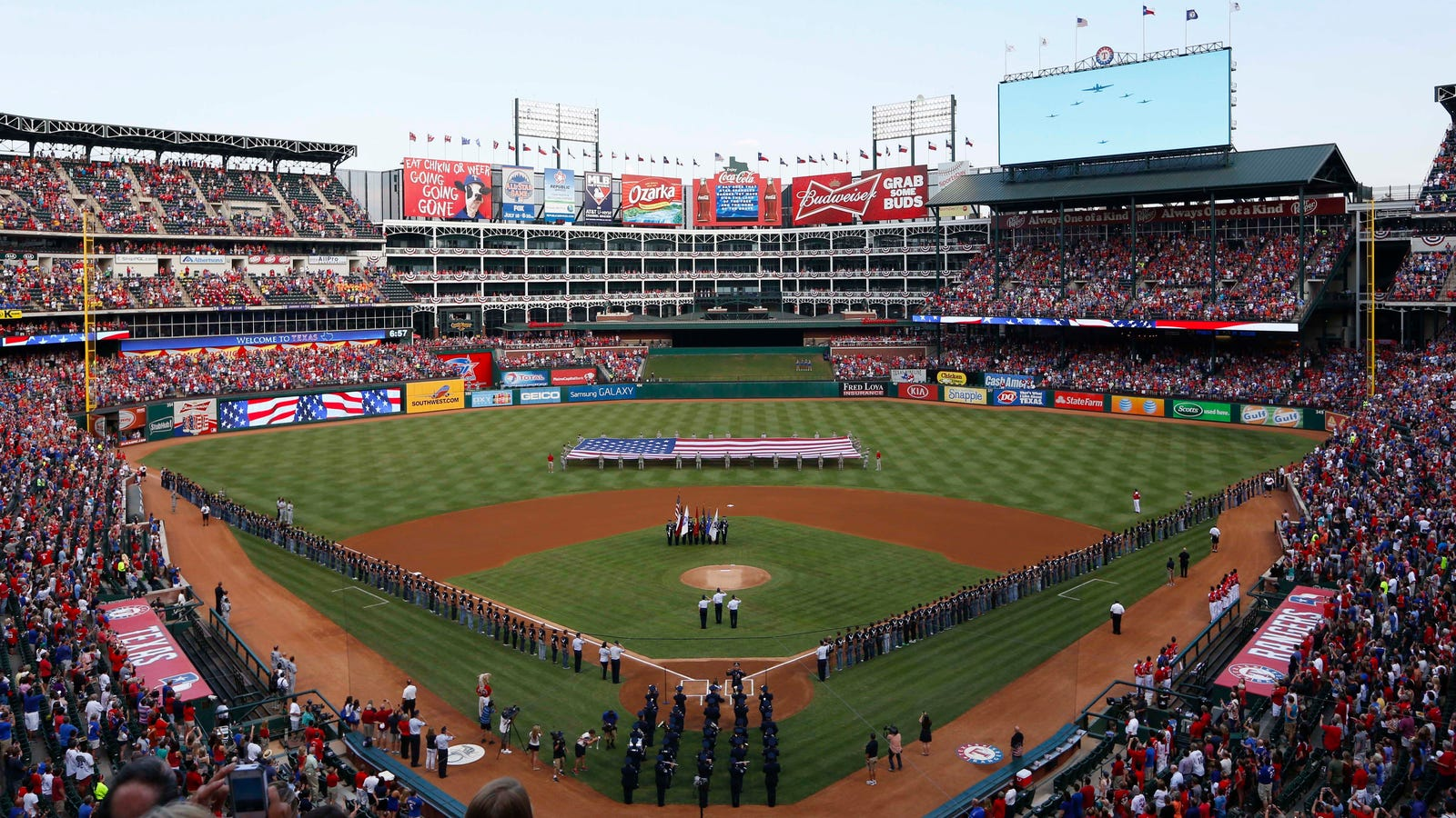 Report Rangers Want New Modern Ballpark To Replace