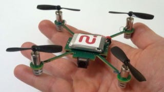 Illustration for article titled This Tiny Pet Quadcopter Could Be Your Own Personal Cameraman