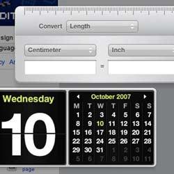 Illustration for article titled Apple Dashboard Widgets on Nokia S60 Phones
