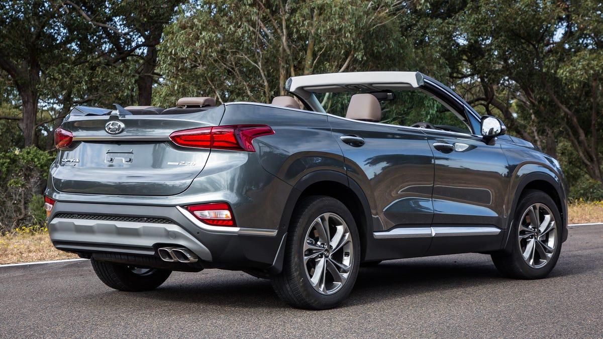 Hyundai Australia Releases Images of a Santa Fe Cabriolet