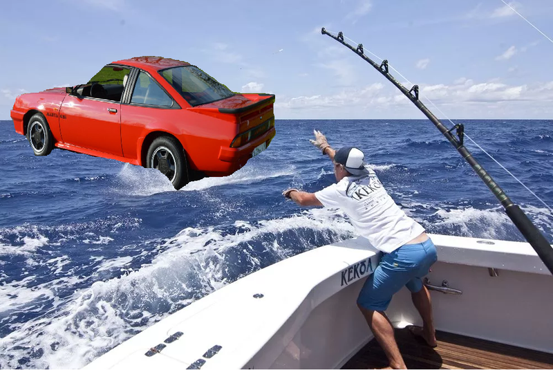 Illustration for article titled Gotta stop wishing, gotta go fishing..