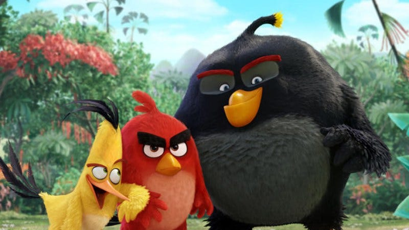Illustration for article titled The Angry Birds movie will cost $185 million