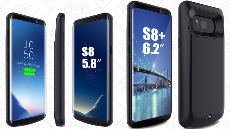 Galaxy S8 Battery Case, $30 with code FORKINJA | S8+ Case, $30 with code FORKINJA
