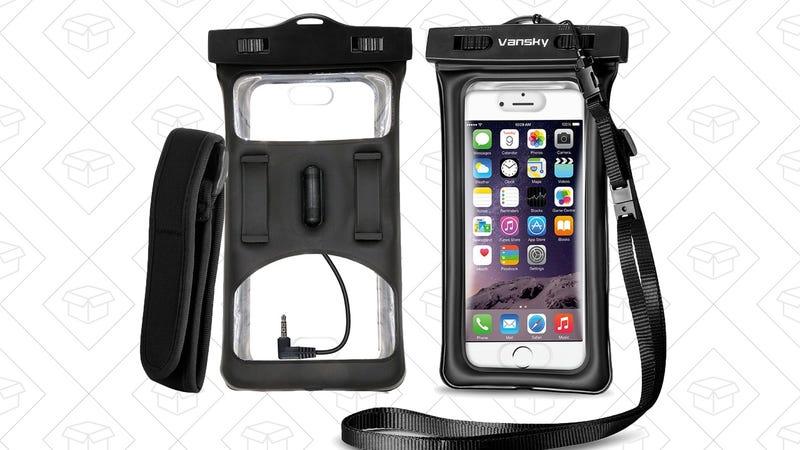 Vansky Waterproof Phone Case, $6 with code 39DZSJ6Q
