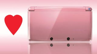"Illustration for article titled Because Nothing Says ""I Love You"" Like a Pearl Pink Nintendo Handheld"
