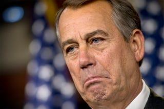 Illustration for article titled Boehner Secretly Tried to Preserve Healthcare for Congressional Staff