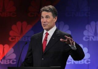 Republican presidential hopeful Rick Perry (Getty)