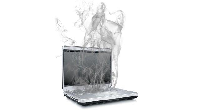 Thermodynamics of a laptop computer