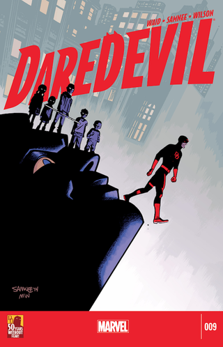 Illustration for article titled Daredevil #09 and the Persuasive Purple Progeny (Spoilers)