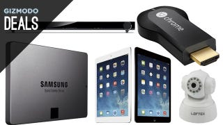 Illustration for article titled Upgrade to SSDs, 10TB of Storage, Save on iPad Airs [Deals]