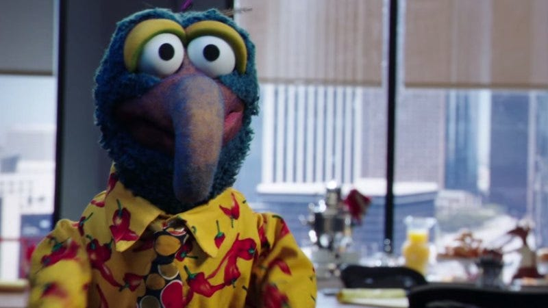 """Here's the footage of the new, """"adult"""" Muppets series from Comic-Con"""