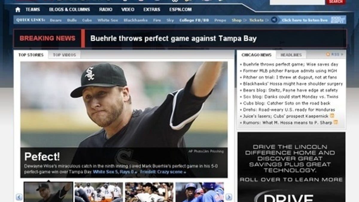 Mark Buehrle Didn't Pitch Much Out Of The Stretch Today
