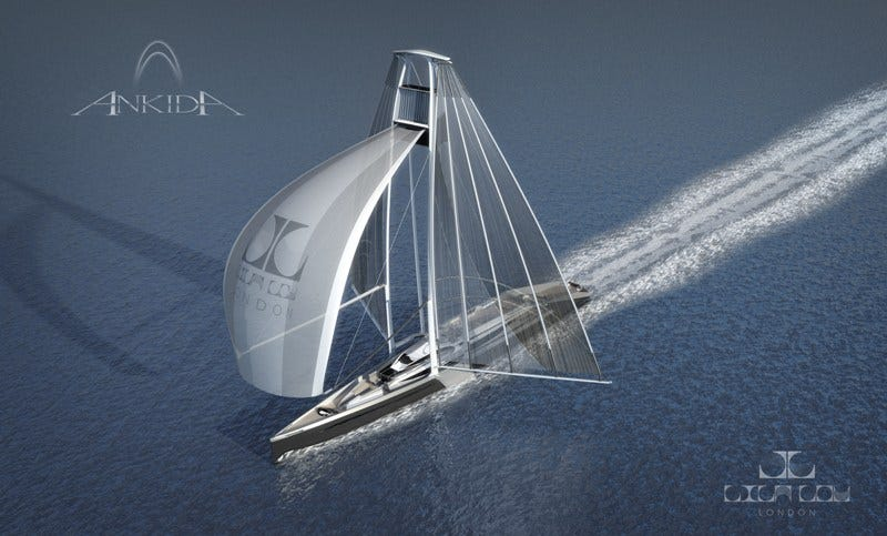 Illustration for article titled Lila-Lou's Ankida Yacht Will Make You Long For A Journey