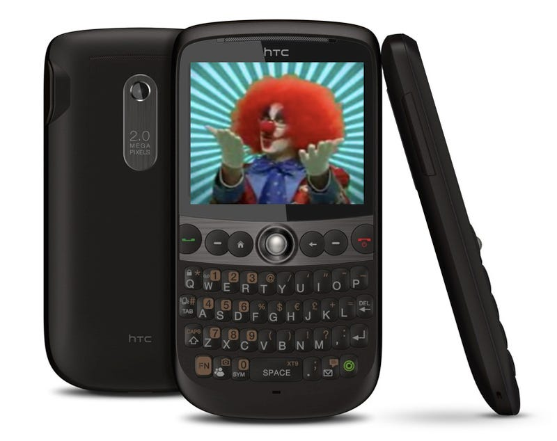 Illustration for article titled HTC Snap Looks Like Beautiful Black berry BOLD