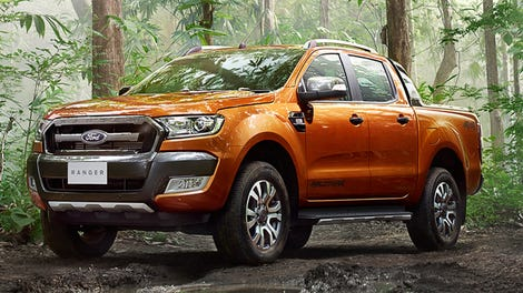 2015 Ford Ranger Wildtrak This Is The New Top Of Line