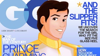 Illustration for article titled Disney princes grace the covers of men's magazines