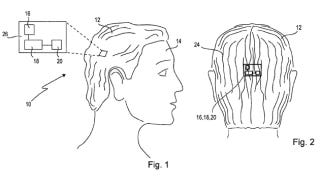 Illustration for article titled Forget Google Glass, Sony's Working on Smart Wigs