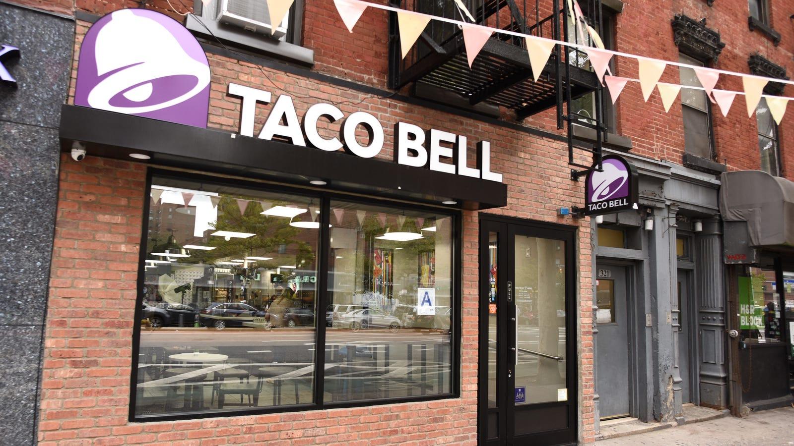 Taco Bell to test vegetarian menu this year