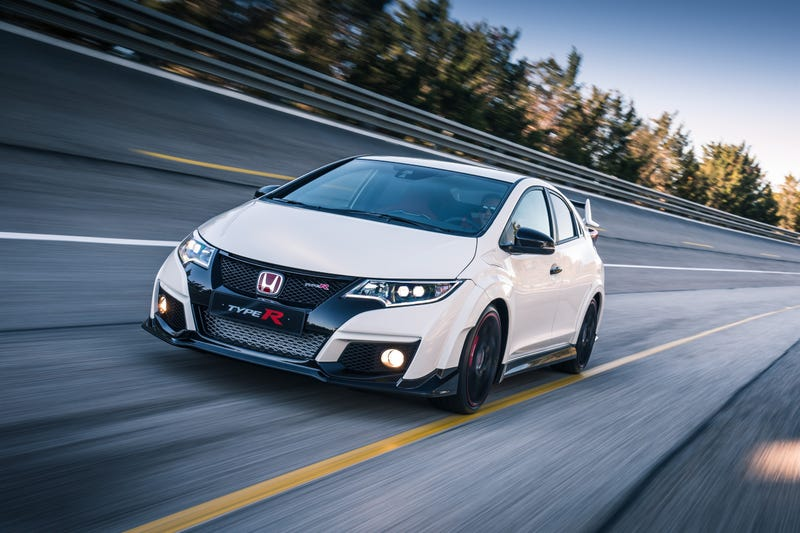 The 2016 Honda Civic Type R Is 310 HP Worth Of Turbo VTEC Craziness