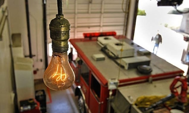 The 110 Year Old Light Bulb That S Never Been Turned Off