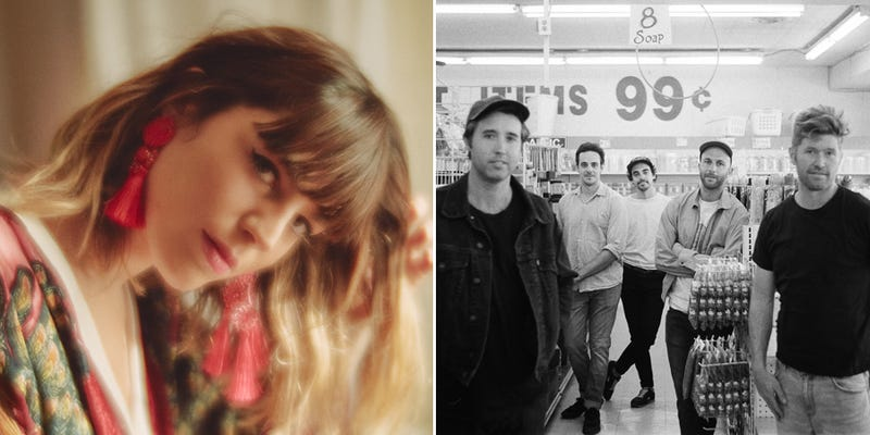 Melody Prochet, a.k.a. Melody's Echo Chamber (Photo: Diane Sagnier); Rolling Blackouts Coastal Fever (Photo: Maclay Heriot)